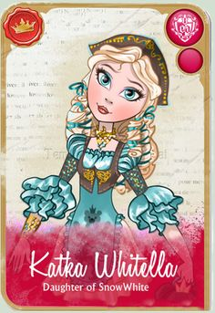 Ever After High OC : Katka Whitella by Jasontarioum.deviantart.com on @deviantART