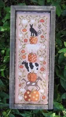 Everything Cross Stitch - Halloween On The Farm