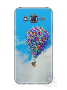 Capa Samsung J5 Balões - SmartCases - Acessórios para celulares e tablets :)