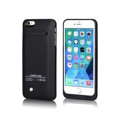 Bateria Mas Duracion Para  de 4200 mAh Para iPhone 6 Plus Carcasa Funda - https://complementoideal.com/producto/fundas/fundas-bateria-telefono-movil/carcasa-bateria-de-4200-mah-para-iphone-6-plus-modelo-9985/  -       Carcasa Batería de 4200mAh Para iPhone 6 Plus tiene una capacidad de 4200mAh, con lo que tendrás más del doble de tiempo para hablar, escuchar música y navegar. Pasa fácilmente del modo de carga al modo reposo con el botón. Además, la Carcasa Bater�