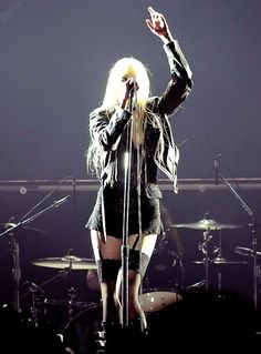 Taylor Momsen....love her music and edgy style. Not so much her eye makeup. But very thing else