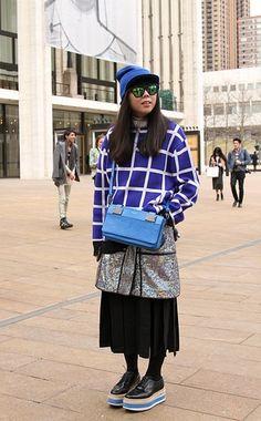 ce1800e946f5 Street Style New York Fashion Week  Day 1