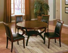 Set of 2 High Back Side Chair with Bycast Venyle Espresso in Walnut Finish ADS90127 -- Check out this great product.