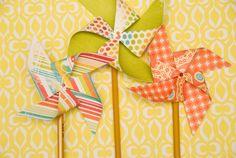 paper pinwheel how-to