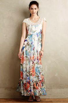 Morgana Maxi Dress By Didier Parakian f58ff45b9d0