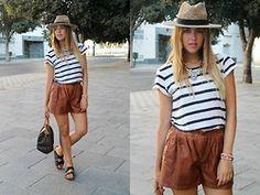 Amy Ramírez - Zara Shorts, Marypaz Sandals, Louis Vuitton Bag - Comfy but chic