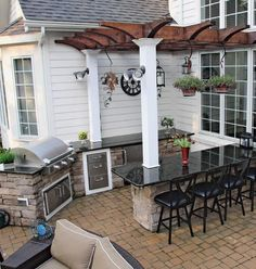 Awesome 36 The Best Outdoor Kitchen Design Ideas
