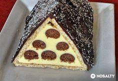 Havas háztető Glaser konyhájából Hungarian Recipes, Cake Cookies, Nutella, Sweet Recipes, Tiramisu, Waffles, Xmas, Christmas, Pie