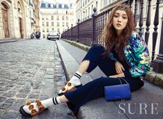 LEE SUNGKYUNG x SURE MAGAZINE APRIL '16 ISSUE