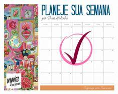 Planeje sua semana!   por Thais Godinho