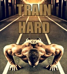 Train hard. That's all there is to it!! #NoExcuses #fitness