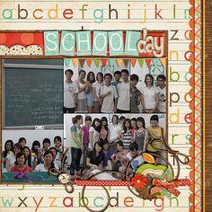 School Day (right) - Scrapbook.com