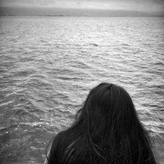 ocean has no name © D O Y E E D T • A N N A H A A L Arte Alien, Ocean, Long Hair Styles, Photograph, Beauty, Summer, Photos, Beach, Photography