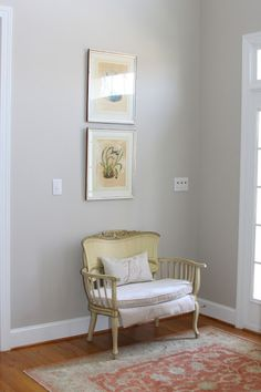 Behr Wheat Bread -- Accent Color in Bedroom