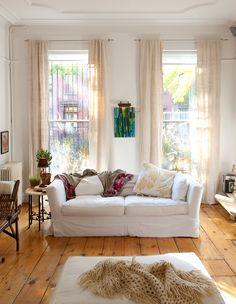 Lovely light, bright, warm & inviting sitting room