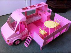 Camper Barbie anni 90 a Italia - Kijiji Barbie Camper, Barbie 80s, Barbie Doll House, Barbie World, Vintage Barbie, Vintage Toys, Dream Doll, Barbie Dream, Childhood Toys