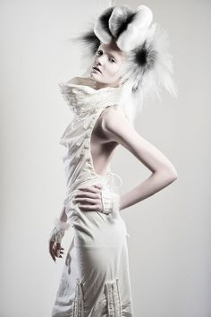 Meet the NAHA finalist Jake Thompson, White Hair, Black color, Updo, Creative style, NAHA, Competition, Finalist, Buns