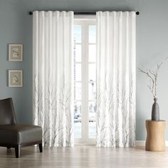 Madison Park Eliza Faux Silk Curtain Panel | Overstock™ Shopping - Great Deals on Madison Park Curtains