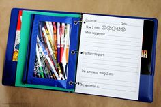 Kids Travel Binder 2