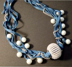 Sparkles From Beach Haus Designs: Denim & Pearls, Sparkle of course!
