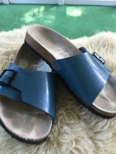 PAPILLIO-BIRKENSTOCK-CATALINA-SANDALS-SZ-39-US-8-Blue