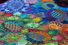 Doña Graciela, artesana del Ñanduti - ñanduti lace from Paraguay.