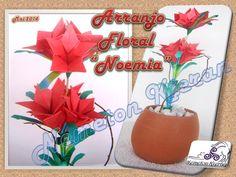 Origami, Flower Arrangements, Planter Pots, Table Decorations, Furniture, Home Decor, Flowers, Floral Arrangements, Decoration Home