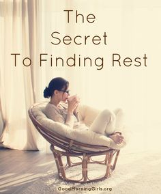 I read somewhere that the Chinese pictograph for busy is two characters -a heart and killing. Isn't that appropriate?  When we are busy it kills our heart.  Here's the secret to finding rest...