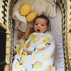 Lemon Cotton Baby Muslin Swaddle - My best baby products list Outfits Niños, Foto Baby, Baby List, Baby Family, Baby Fever, Baby Pictures, Beautiful Babies, Future Baby, Little Babies