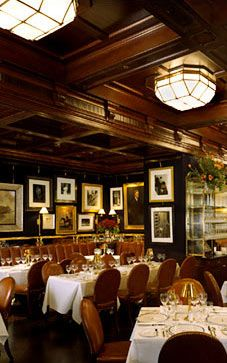 Dining Room in the Ralph Lauren Restaurant in Chicago - RLRestaurant.com. I've never been but have been meaning to go
