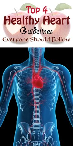 Top 4 Healthy Heart Guidelines Everyone Should Follow