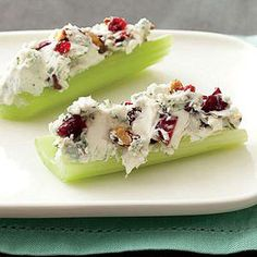 Blue Cheese-and-Pecan Stuffed Celery