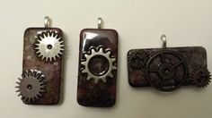 Black Friday Sale  Steampunk Altered Domino by SweetPeas3made