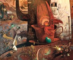 Shaun Tan - Tea Party