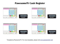 ⇢ Terms and Conditions ⇠ All templates are made and tested by PawesomeTV. Barbie Dolls Diy, Diy Doll, Barbie Miniatures, Barbie Clothes Patterns, Doll Food, Cash Register, Lps, Plates On Wall, Diy And Crafts
