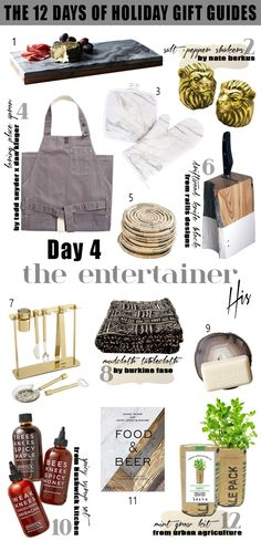 The 12 Days of Holiday Gift Guides! Day 4: The Entertainer