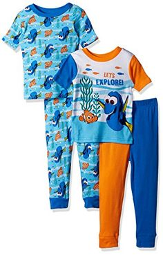 Finding Dory Toddler Boys Pajama Shirt 2pc Pajama Pant Set Size 2T 3T 4T $34