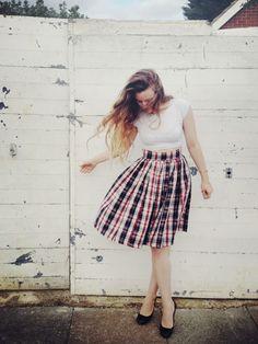 Elisalex's Gathered Skirt -- By Hand London DIY