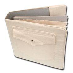 *Maya Road CANVAS JEANS POCKET BINDER ALBUM Book cn1448