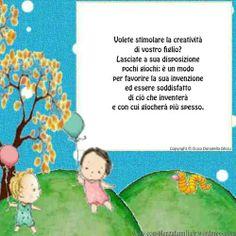 Lasciamo pochi #giocattoli a disposizione dei #bambini   #crescita #figli #sviluppopsicoemotivo #genitori #bambino #mamma #children #papà #educazione #parents #famiglia #mamme