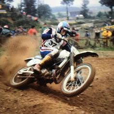 Jacky Vimond ripping out of a corner. #motocrosshistory #motocross #yamaha #worldchampion #frenchmotocross #legend via ✨ @padgram ✨(http://dl.padgram.com)