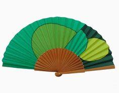 Hand Held Fan, Hand Fan, Shapes, Fans, Creative, Fabric, Pattern, Handmade, Inspiration