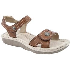 21dc0660c7d81f Earth Spirit Ladies Jackson Tan Sandals  Amazon.co.uk  Shoes   Bags