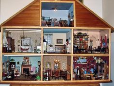 Made me think of my childhood...Ashley Dye had the MOST FABULOUS doll house!!