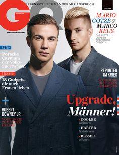 Marco Reus y Mario Götze para GQ Alemania, Mayo 2013