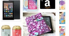 Enter this giveaway for a chance to win a Kindle Fire 7, a $15 (or equivalent) Amazon gift card, a Fable & Black mug, tea, chocolate an...