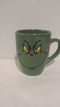 The Grinch - Grinch coffee cup - Grinch Mug - The Grinch Who Stole Christmas - Christmas Mug - Grinch Collector - Gift - Christmas Gift