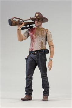 Rick Grimes action figure. McFarlane Reveals Second Wave Of 'The Walking Dead' TV Series Action Figures (Sept 2012)