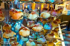 Scallops with bacon jam by Giandis Catering in Nashville, TN