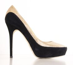 Tulip Glitter-Suede Platform Pump The Jimmy Choo